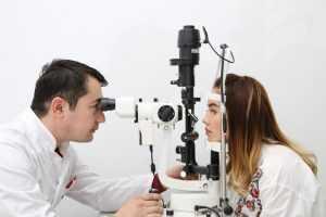 Биомикроскопия глаза - осмотр офтальмолога